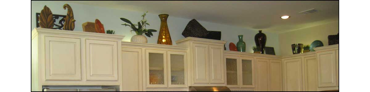 top of kitchen cabinets